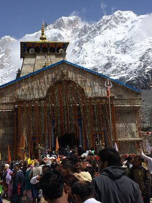 Kedarnath Temple Uttrakhand,trek with belief