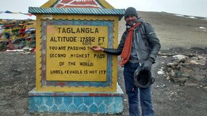 A himalayan conquest via hell and heaven!!