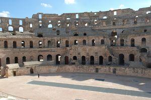 El DJem Amphitheatre 1/1 by Tripoto