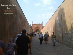 My journey to Red Fort, Agra – Revived and relived