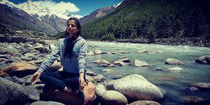 Awakened @Chitkul #Chitkul #Himachal #kinnaur #himalaya  #biketrip #Couplegoals #travel #spiti #u&me
