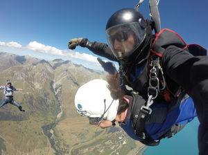 The flying man selfie #selfiewithaview #tripotocommunity