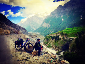 Solo cycling trip manali to Leh ,ladakh And Khardungla  pass 2018 - mountains calling