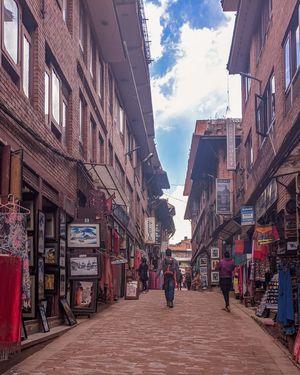 Old street - Bhakatpur (Kathmandu)