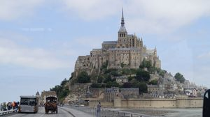 Church & State. Soul & Body. God & Man. are all one at Mont St Michel !