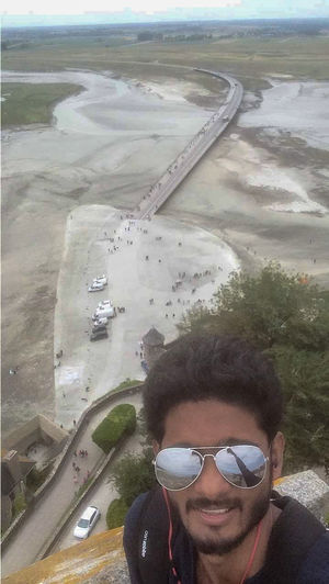 Just Go Google: Mont Saint Michel. I bet, you will thank me ????  #selfiewithaview #tripotocommunity
