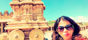 Life is like a Chariot wheels that ever rolls along.. #SelfieWithAView #TripotoCommunity