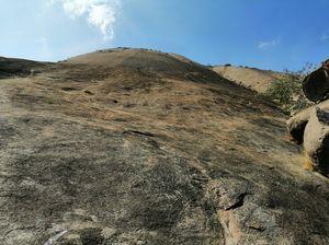 Savandurga trek, mytrek and solo bike ride on weekend getaways #thripzel