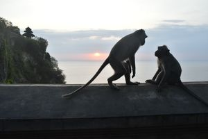Sunset at Ulluwatu Temple