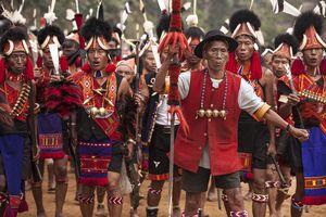 A peek at Nagaland's headhunting tribe (Konyaks)