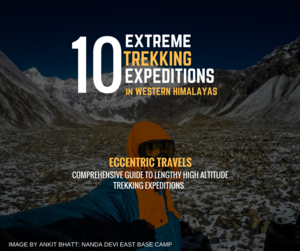 10 Extreme Treks in Western Himalayas - Comprehensive guide with (3D Imagery, paths)