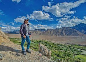 Landscape at its best at Leh, Ladakh.