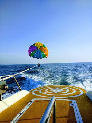 Parasailing in Goa, it's altogether a different experience.