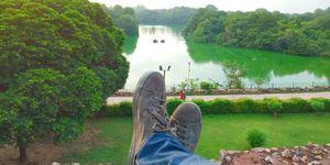 Well spent day at haus khas, Delhi