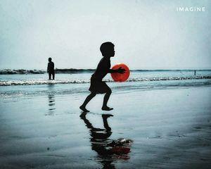 Gopalpur - A deserted beach.
