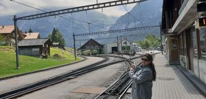 An Incredible Train Journey to the top of the Europe - Interlaken Station to Jungfrau (Switzerland)