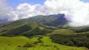 Kudremukh - The Horse's face