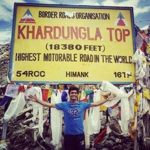 Ladakh Biking!! Manali-Leh-Srinagar in 15 days.