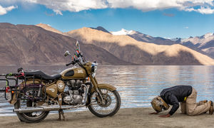 Ride to the Himalayas on a Royal Enfield Bullet