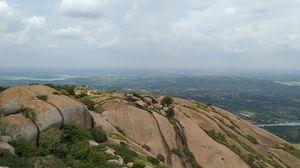 Asia's largest Monolith-Savandurga hills