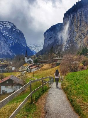 Perfect Life in Swiss Town of Lauterbrunnen!