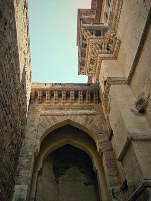 The entry gate of the magnificent Mehrangarh Fort of Jodhpur, Rajasthan. The pride of Marwar.