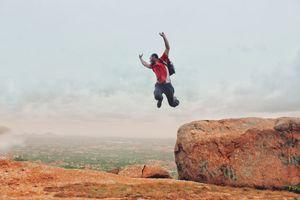 Adventure trip near Bangalore Savandurga hills