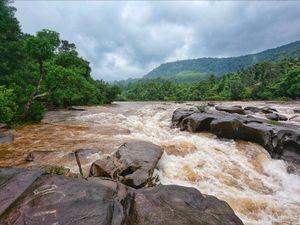 Monsoon vibes at Ambaa theertha, kalasa, karnataka 2019.