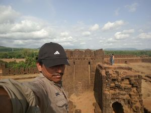 Top of the fort #SelfieWithAView #TripotoCommunity