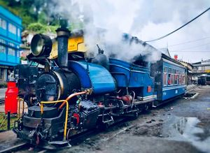 That's the the himalayan bird steam train????  Theme: Landscape #BestTravelPictures