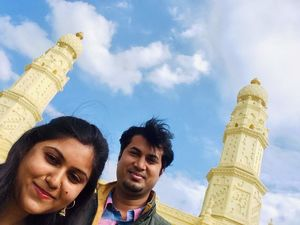 Build your own castle... #SelfieWithAView  #TripotoCommunity