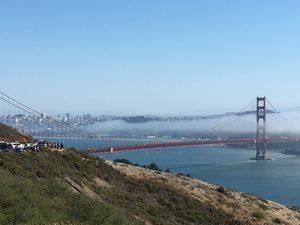 Theme - Landscape The golden gate #BestTravelPictures