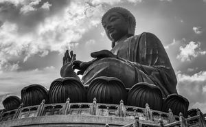 #BestTravelPictures . The Big Buddha at Lantau island - Architecture! @triptocommunity