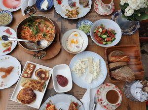 Turkish village breakfast #IWillGoAnywhereForFood