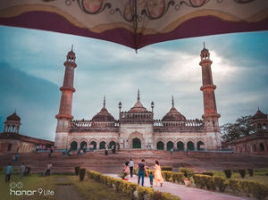 Frames of Bara Imambara, Lucknow, UP