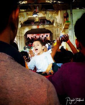 If u r a kid..standing in a que could be fun too !!#BestTravelPictures @tripotocommunity