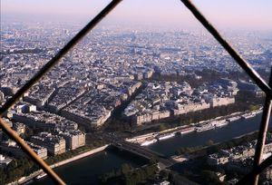 Up above from world so high.. - The eiffel Tower
