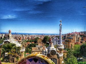 The beat view of Gaudi's Barcelona... #besttravelpictures
