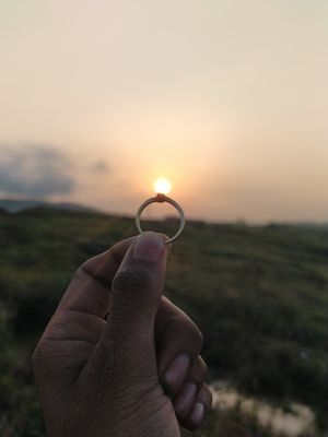 When other were craving for diamonds I crave for Sun in my Ring ❤