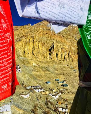 Dhankar village, Spiti valley, Himachal Pradesh. #Best TravelPictures