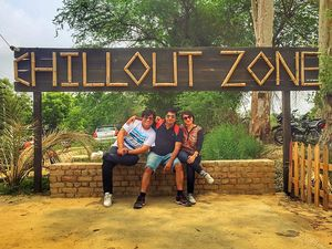Chill out at The Chillout Zone Adventure Park Near Delhi
