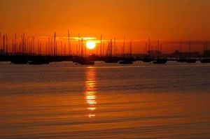 "#BestTravelPictures ""Every Sunset is a promise of a new dawn bringing along with it a new Hope"""