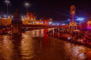 Harkipaoudii Haridwar  #night