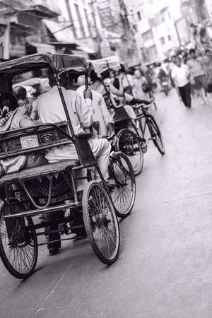 Indian cycle rickshaw.  #BestTravelPictures @tripotocommunity