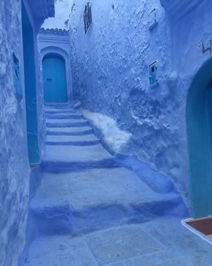 Blue wonder of the world ????  #Morocco #Besttravelpicture @tripotocommunity