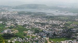 View Udaipur From the Top