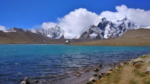 Gurudongmar lake,sikkim #BestTravelPictures