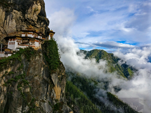 The serene and beautiful Tiger's Nest Monastery #Bhutan #BestTravelPictures @tripotocommunity