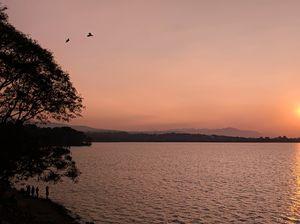 Evening at Khadakwasla Reservoir.