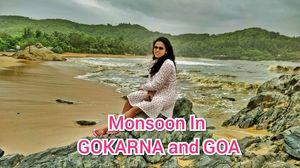 Gokarna Vlog 2018 | Monsoon in Gokarna and Goa | 3 DAYS TRIP TO GOKARNA
